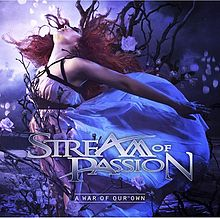 RockmusicRaider Review - Stream of Passion - War of our Own - Album Cover