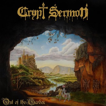 RockmusicRaider Review - Crypt Sermon - Out of the Garden - Album Cover