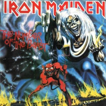 RockmusicRaider Review - Iron Maiden - Number of the Beast - Album Cover