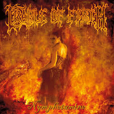 RockmusicRaider Review - Cradle of Filth - Nymphetamine - Album Cover