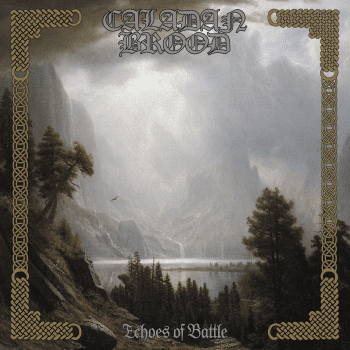 RockmusicRaider - Caladan Brood Echoes of Battle - Album Cover