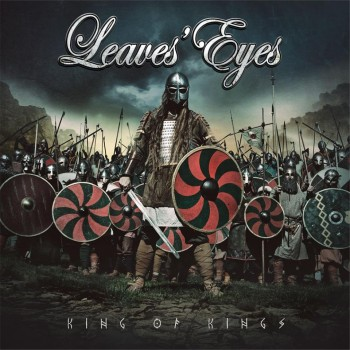RockmusicRaider Review Leaves Eyes King of Kings - Album Cover