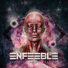 RockmusicRaider Newsflash - Enfeeble - Moments of Tranquility - Album Cover