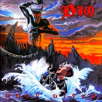 RockmusicRaider Review - Dio - Holy Diver - Album Cover
