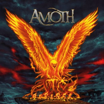 RockmusicRaider Review - Amoth - Revenge - Album Cover