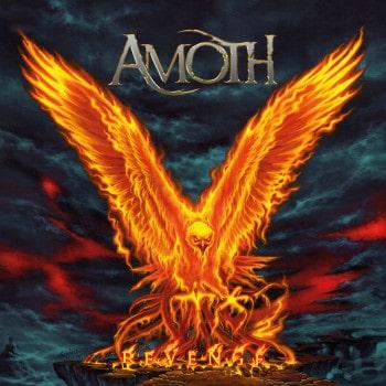 RockmusicRaider Review - Amoth - Revenge - Album Cover