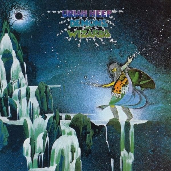 Uriah Heep Demons And Wizards 1972 Review Rockmusicraider