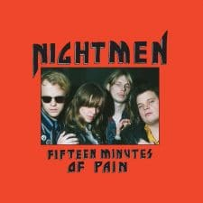 RockmusicRaider Newsflash - Nightmen - Fifteen Minutes of Pain - Album Cover