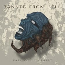 RockmusicRaider Newsflash - Banned From Hell - Fall of Humanity - Album Cover