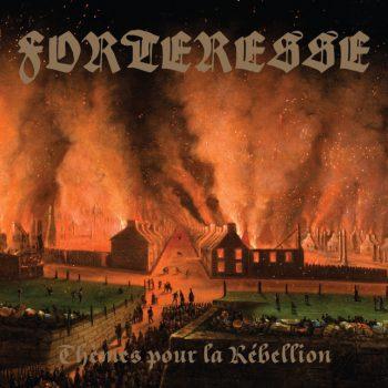 RockmusicRaider Review - Forteresse - Thèmes pour la Rébellion - Album Cover