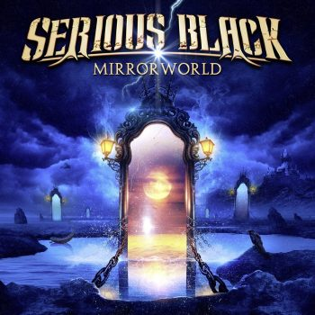 RockmusicRaider Review - Serious Black - Mirrorworld - Album Cover