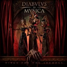 RockmusicRaider Newsflash - Diabulus in Musica - Dirge for the Archons - Album Cover