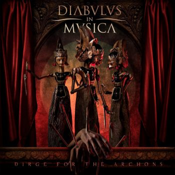 RockmusicRaider Review - Diabulus in Musica - Dirge for the Archons - Album Cover