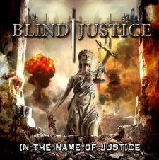 RockmusicRaider Newsflash - Blind Justice - In The Name of Justice - Album Cover