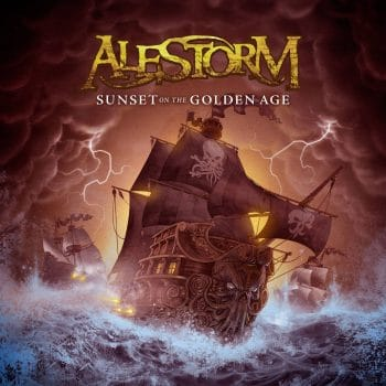 RockmusicRaider Review - Alestorm - Sunset on the Golden Age - Album Cover