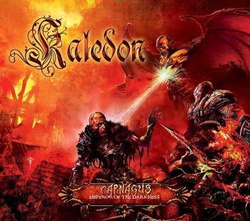 RockmusicRaider Review - Kaledon - Carnagus: Emperor of the Darkness - Album Cover