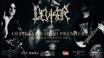 RockmusicRaider Video - Deviser - Black Mass - Howling Flames