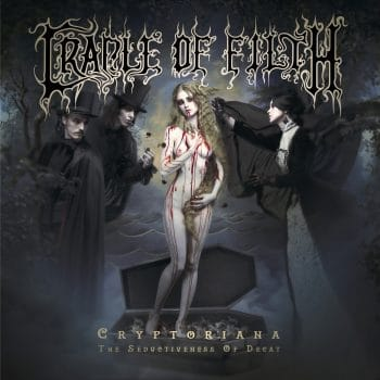 RockmusicRaider Review - Cradle Of Filth - Cryptoriana - The Seductiveness Of Decay - Album Cover