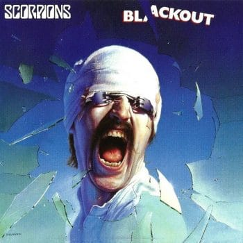 RockmusicRaider Review - Scorpions - Blackout - Album Cover