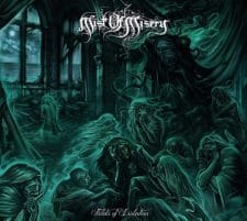 RockmusicRaider Newsflash - Mist of Misery - Fields of Isolation - Album Cover