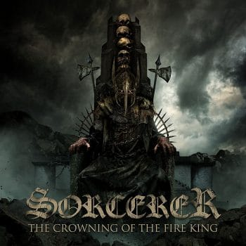 RockmusicRaider Review - Sorcerer - The Crowning of the Fire King - Album Cover