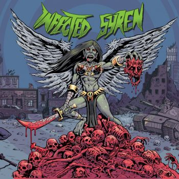 RockmusicRaider Review - Infected Syrens - Self-Titled - Album Cover