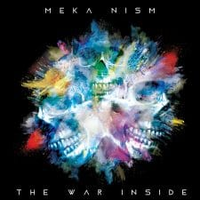 RockmusicRaider Newsflash - Meka Nism - The War Inside - Album Cover
