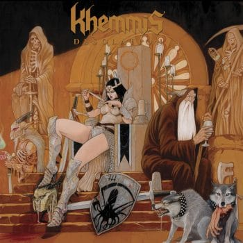 RockmusicRaider Review - Khemmis - Desolation - Album Cover