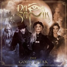 RockmusicRaider Video - Dark Sarah - The Gods Speak - Single Cover