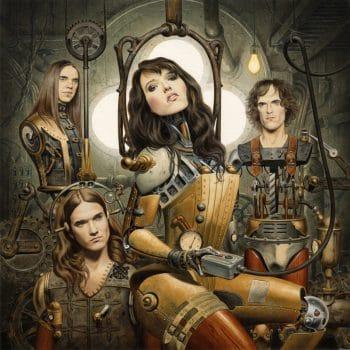 RockmusicRaider review - Halestorm - Halestorm - Album Cover