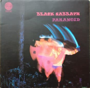 RockmusicRaider Review - Black Sabbath - Paranoid - Album Cover