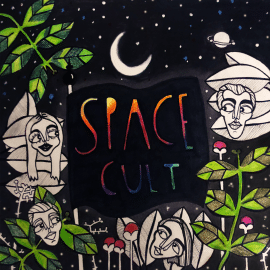 RockmusicRaider - Space Cult - EP - Album Cover