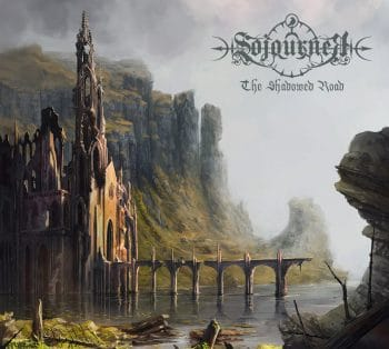 RockmusicRaider - Sojourner - The Shadowed Road - Album Cover