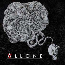 RockmusicRaider - Allone - Alone.... - Album Cover