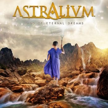 RockmusicRaider - Astralium - Land of Eternal Dreams - Album Cover