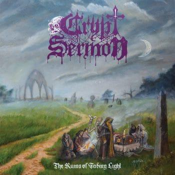 RockmusicRaider - Crypt Sermon - The Ruins of Fading Light - Album Cover