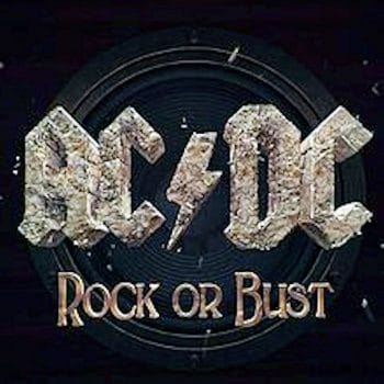 RockmusicRaider - AC/DC - Rock or Bust - Album Cover