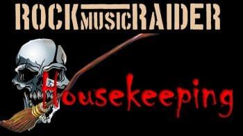 RockmusicRaider - Housekeeping - Banner