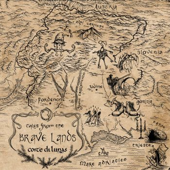 RockmusicRaider - Corte Di Lunas - Tales From The Brave Lands - Album Cover