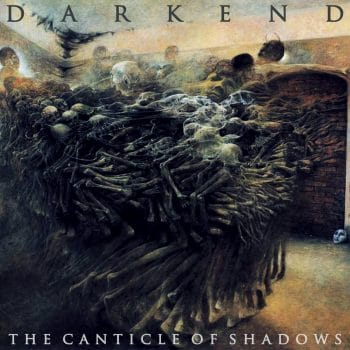RockmusicRaider - Darkend - The Canticle of Shadows - Album Cover