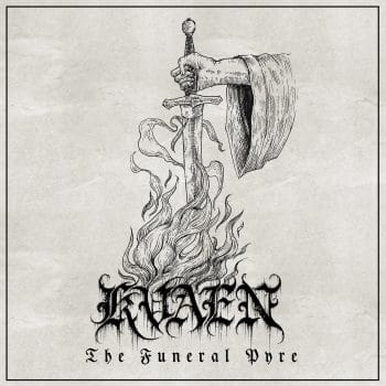 RockmusicRaider - Kvaen - The Funeral Pyre - Album Cover