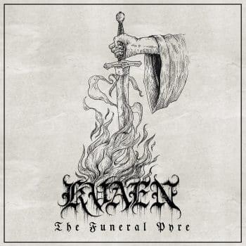 RockmusicRaider - Kvaen - The Funeral Pyre - Album Cover