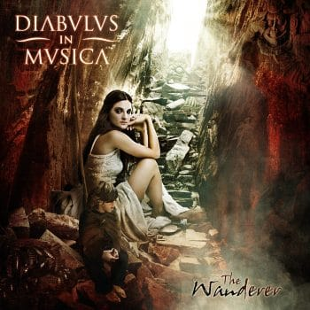 RockmusicRaider - Diabulus in Musica - The Wanderer - Album Cover