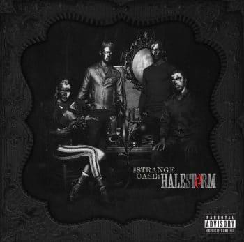 RockmusicRaider - Halestorm - The Strange Case Of - Album Cover