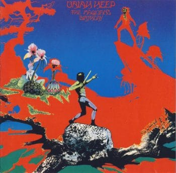 RockmusicRaider - Uriah Heep - The Magician's Birthday - Album Cover
