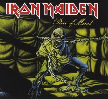 RockmusicRaider - Iron Maiden - Piece of Mind - Album Cover
