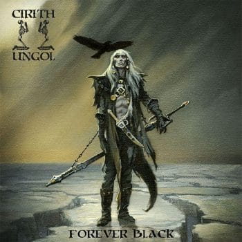 RockmusicRaider - Cirith Ungol - Forever Black - Album Cover