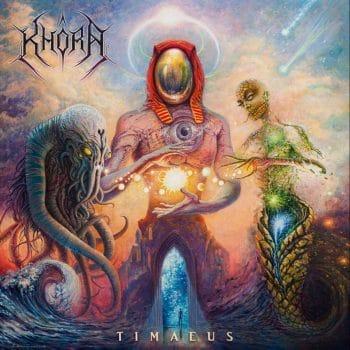 RockmusicRaider - Khôra - Timaeous - Album Cover