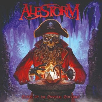 RockmusicRaider - Alestorm - Curse of the Crystal Coconut - Album Cover