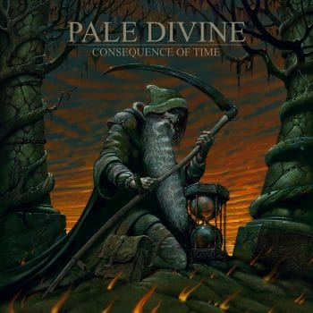 RockmusicRaider - Pale Divine - Consequence of Time - Album Cover